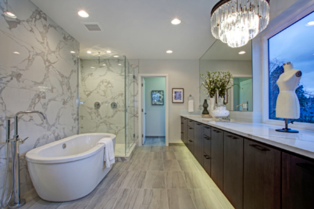 granite countertops bathroom